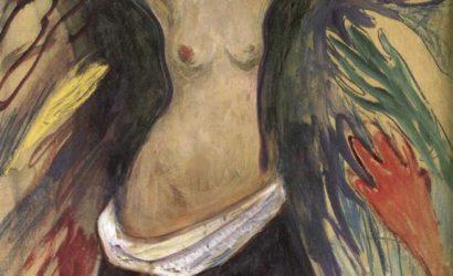 """Edvard Munch Les mains, illustration de l'épisode 10 du podcast Guerilla du sein nommé """"Front arrière"""" ou le point de vue des aidants"""